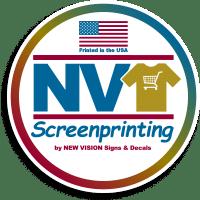 NV Screenprinting logo.