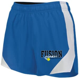 Fondy Fusion Ladies Shorts (229389) in Royal blue.