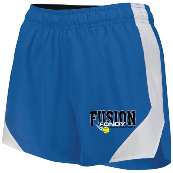 Fondy Fusion Ladies Shorts (229389) in Royal blue.